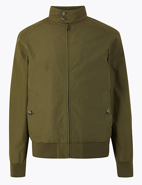 Cotton Rich Harrington Jacket