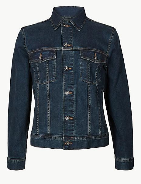 Cotton Rich Authentic Denim Jacket