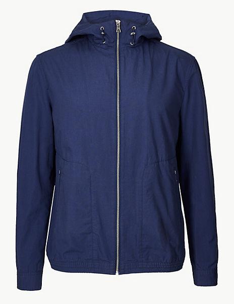 Pure Cotton Anorak Jacket
