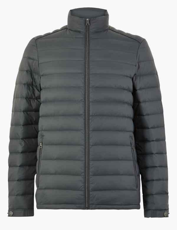 6092e0b1385 Down & Feather Jacket with Stormwear™
