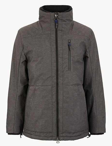 Fleece Lined Windcheater Coat