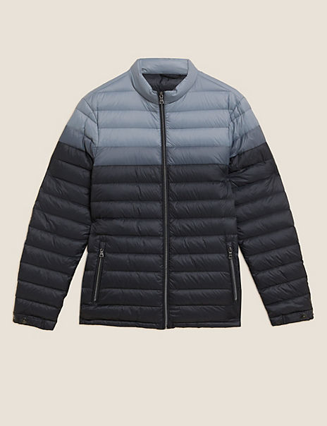 Down and Feather Puffer Jacket