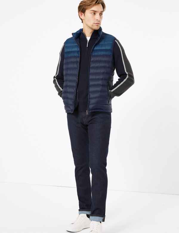 clp60369368: Down and Feather Gilet with Stormwear™