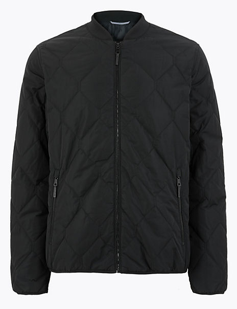 Quilted Bomber with Stormwear™