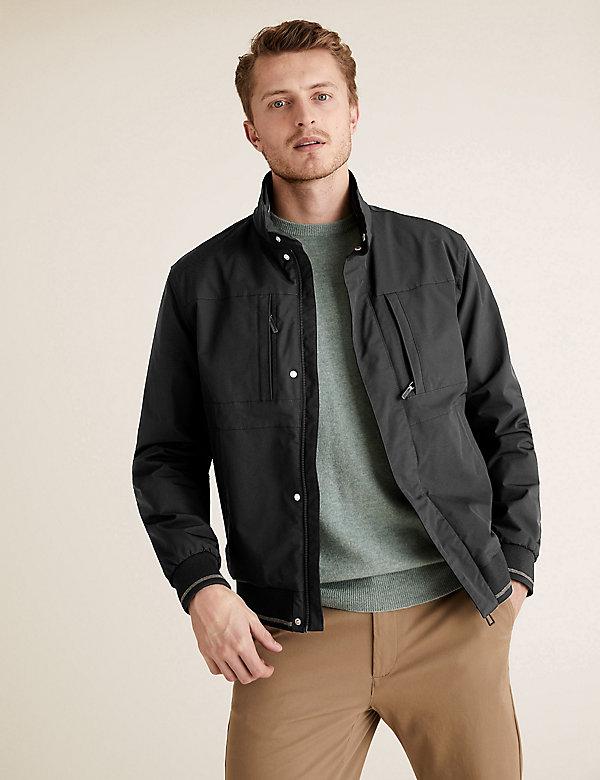 Fleece Lined Bomber Jacket with Stormwear™