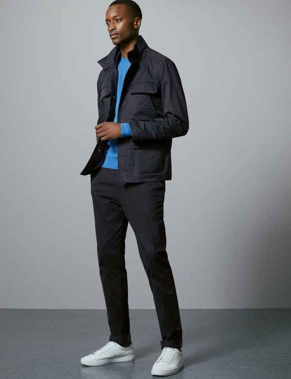 901df4e11e9 Cotton Rich Four Pocket Jacket