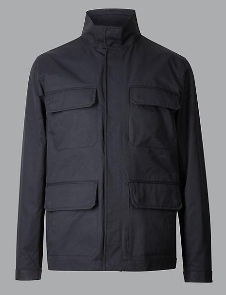 Cotton Rich Four Pocket Jacket