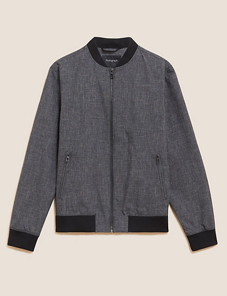 Textured Bomber Jacket Stormwear™