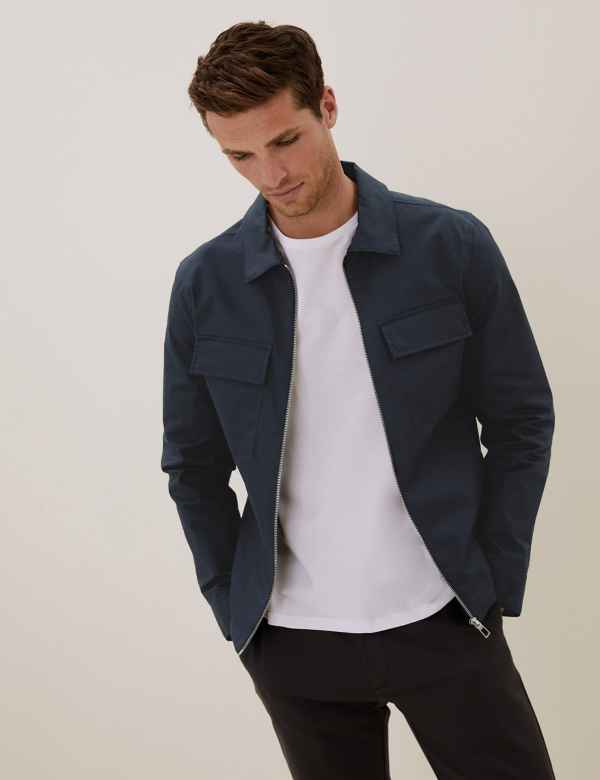 marks and spencer mens sale jackets