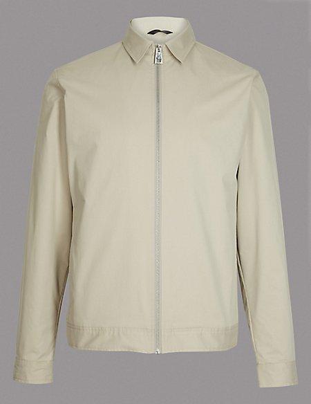 Harrington Shirt Jacket with Stormwear™