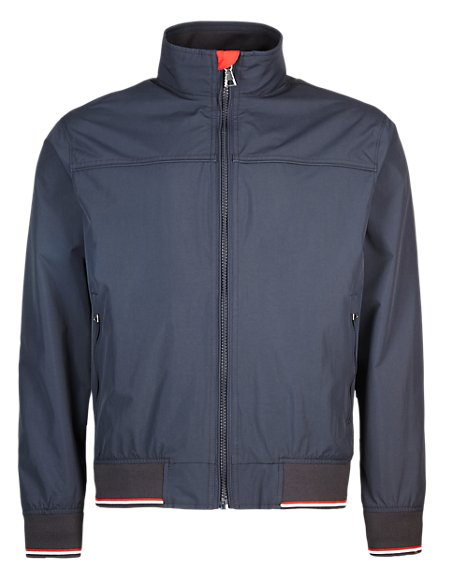 Water Resistant Bomber Jacket