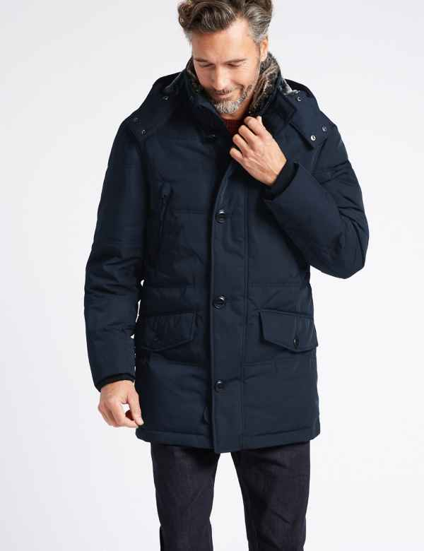 5a1993ce1d Down   Feather Parka with Stormwear™