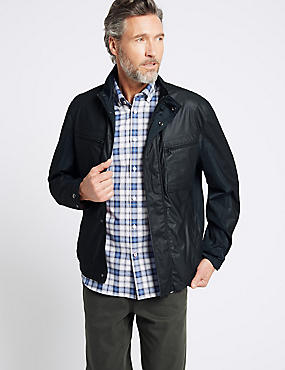 Shower Resist Textured Jacket