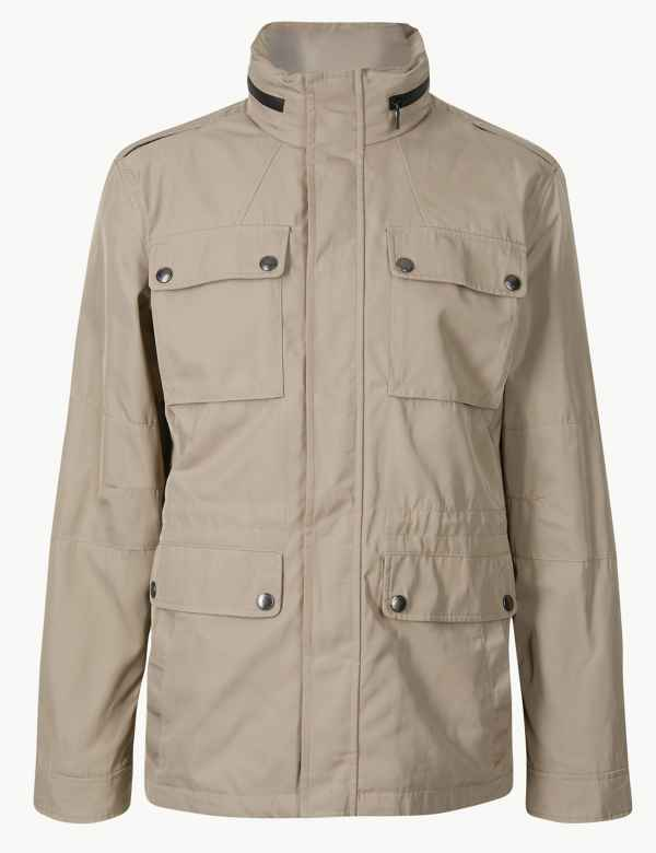 cb4a71fc2837 Four Pocket Jacket with Stormwear™