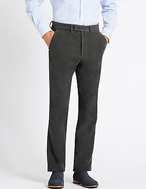 Regular Fit Moleskin Chinos