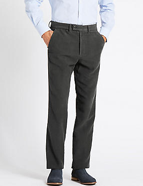 Big & Tall Pure Cotton Moleskin Chinos