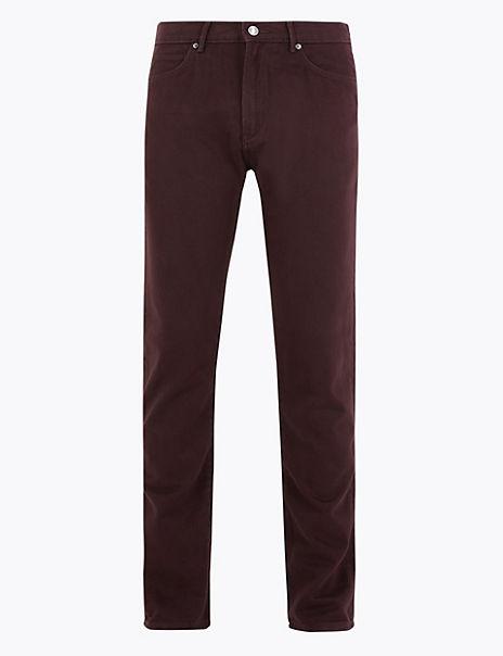 Slim Fit Cotton Rich Jeans