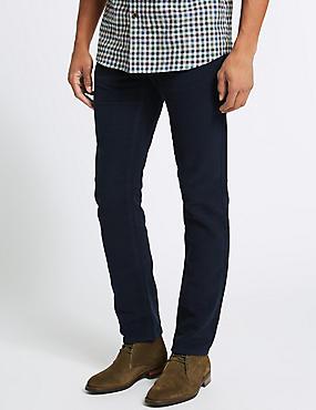 Italian Moleskin Slim Fit 5 Pocket Trousers