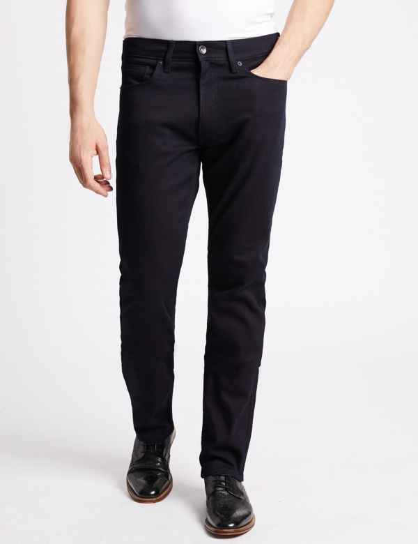 14a34542 Big & Tall Slim Fit Stretch Jeans. Big & tall sizes available. M&S  Collection