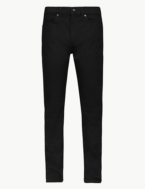 Tapered Fit Stretch Travel Jeans