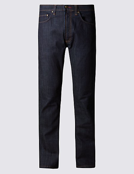 Straight Fit Stretch StayNew™ Jeans