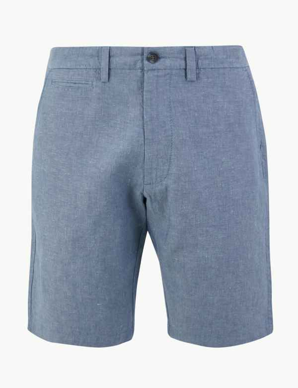 e70ebda193 Mens Chino & Cargo Shorts | 3/4 Length Shorts For Men | M&S