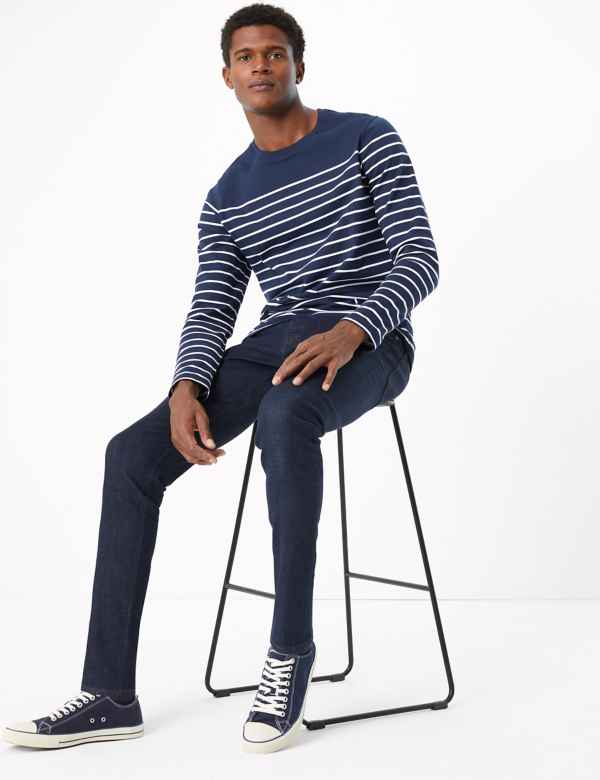 Skinny Fit Smart Jeans with Stretch
