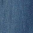 Strečové džíny súzkým střihem, STŘEDNÍ MODRÁ, swatch