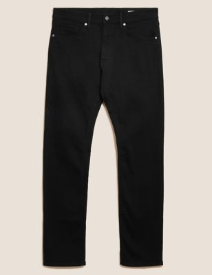 Big &Amp; Tall Straight Fit Stretch Jeans by Marks & Spencer