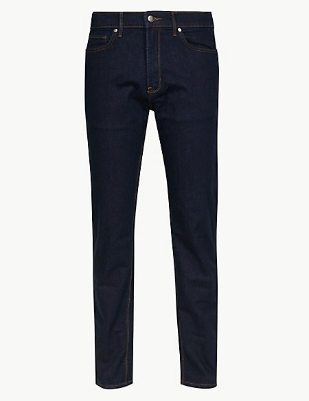 Big & Tall Tapered Fit Stretch Jeans