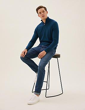 Big & Tall Organic Cotton Slim Fit Jeans