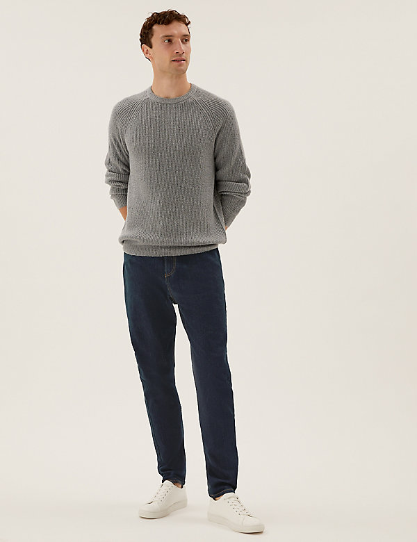 Organic Cotton Straight Fit Stretch Jeans