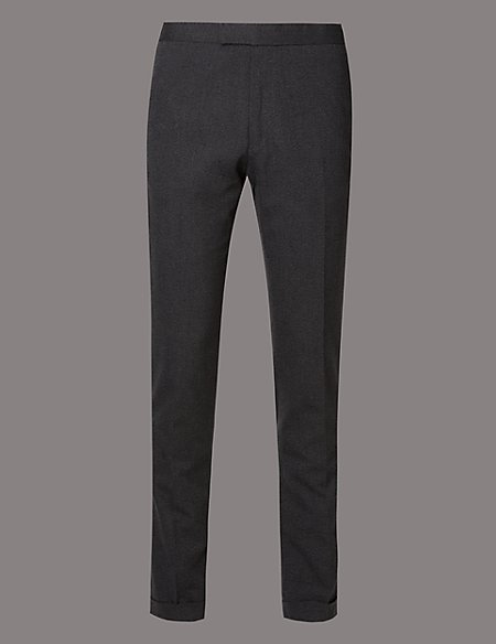 Flat Front Tailored Fit Chinos