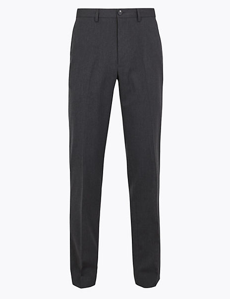 Tailored Fit Stretch Trousers