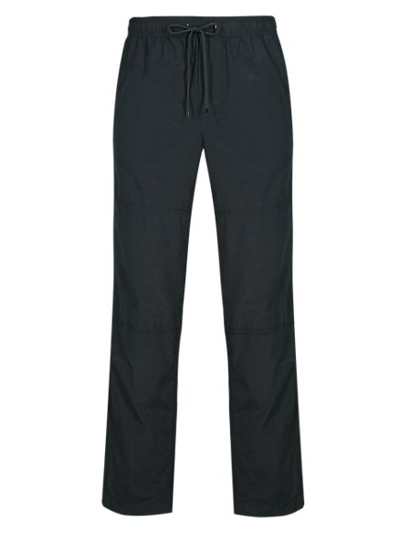 Cotton Rich Pull On Trousers | M&S Collection | M&S