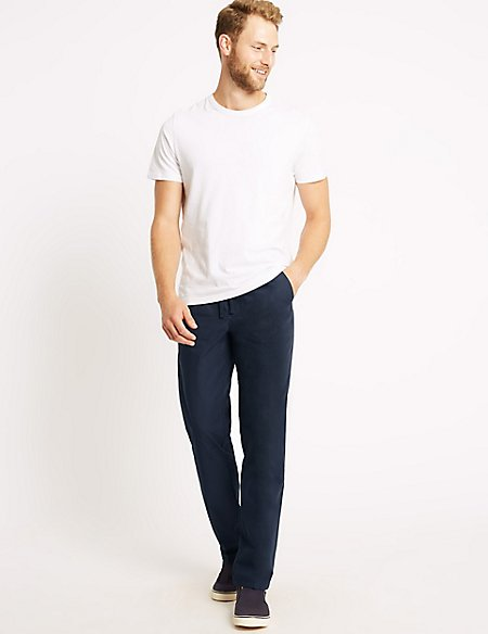 Lightweight Regular Fit Chinos