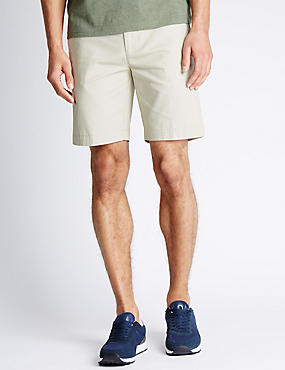 Marks and Spencer Pure Cotton Cactus Design Chino Shorts natural Real Online jLd0f