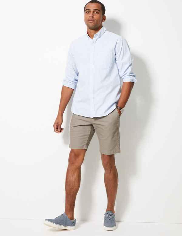Mens Chino Cargo Shorts 3 4 Length Shorts For Men M S
