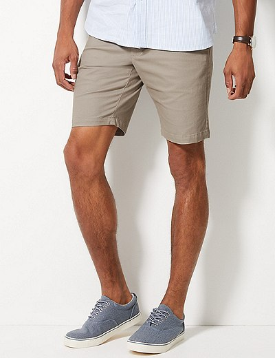 c737dccd6ec Cotton Rich Chino Shorts with Stretch