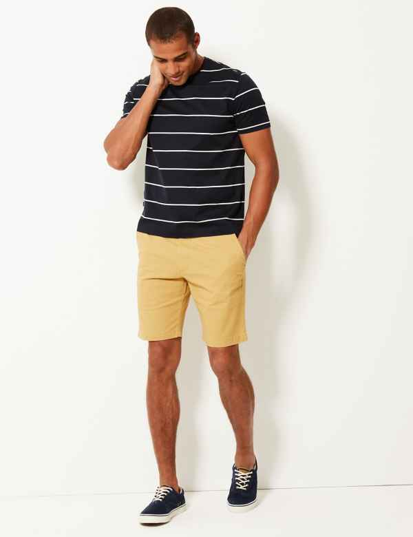 571c78553b8c Cotton Rich Chino Shorts with Stretch