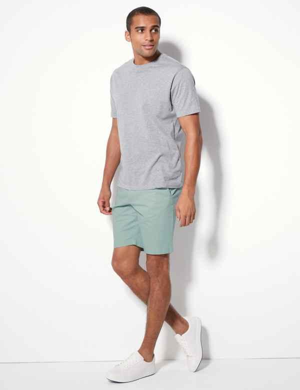 b8eb155fee Cotton Rich Chino Shorts with Stretch
