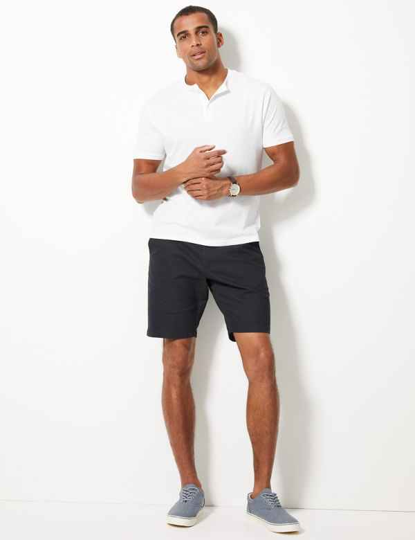 fe74a364521e51 Big   Tall Cotton Chino Shorts with Stretch