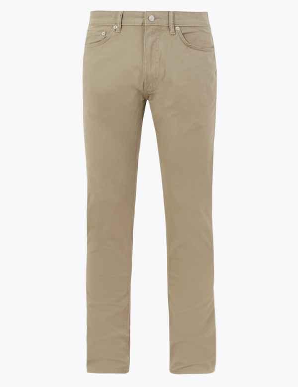 M/&S Tailored Fit ~ Premium Linen Blend Trousers ~ 38W 29L ~ GREY ~ BNWT £39