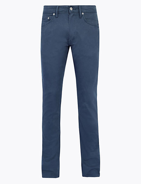 Slim Fit 5 Pocket Trouser with Stretch