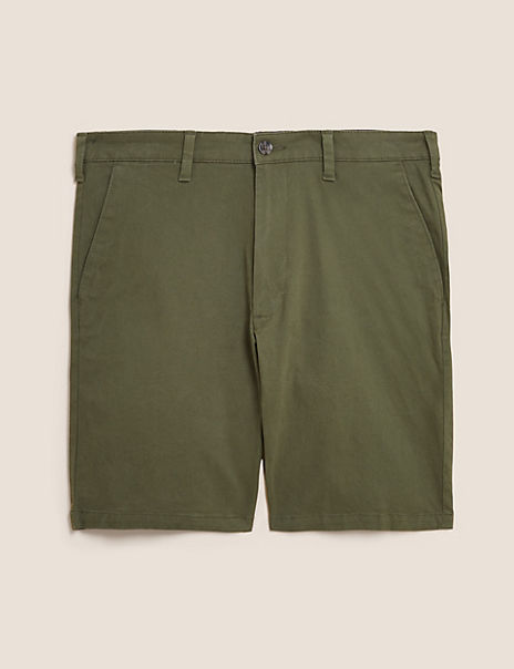 Chino Shorts with Stretch