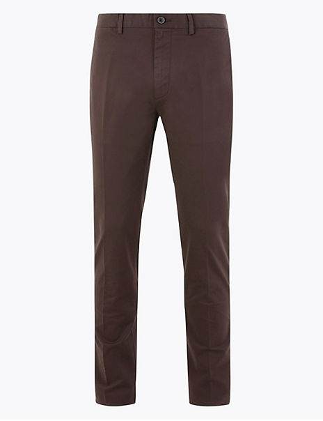 Slim Fit Smart Chinos