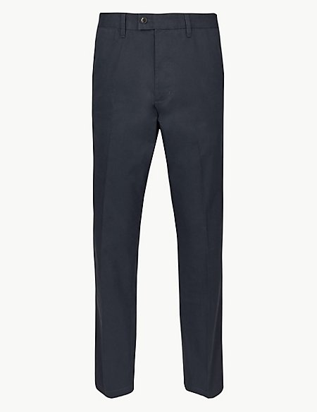 Big & Tall Regular Fit Cotton Rich Chinos