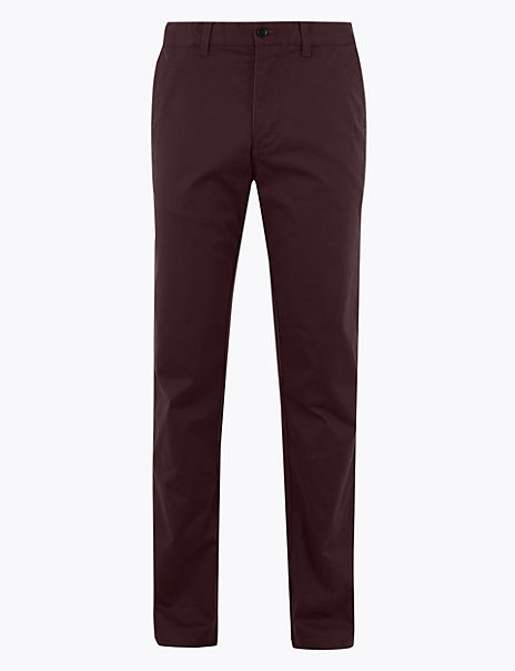 Premium Cotton Chinos with Stretch
