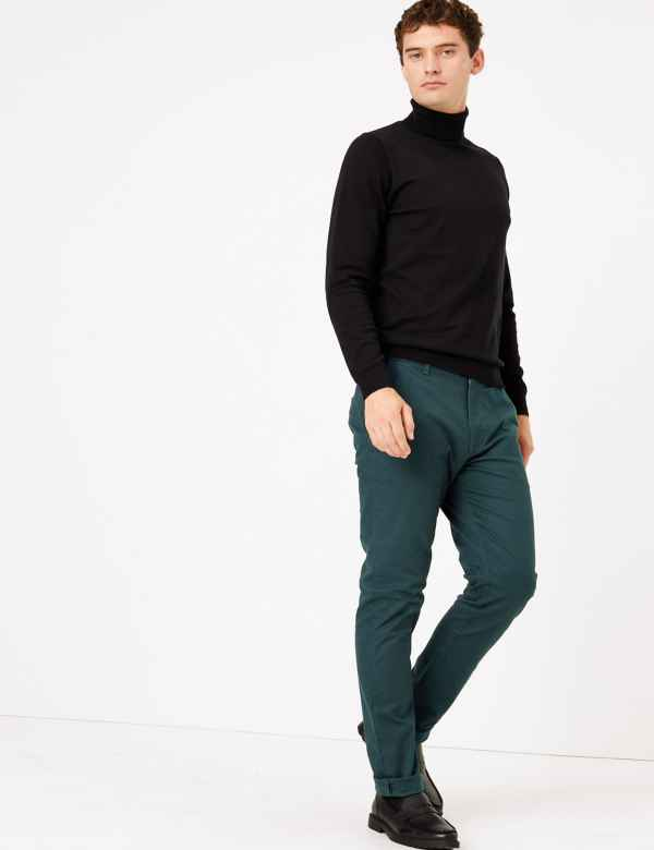 fantastic savings various kinds of customers first Mens Slim fit Formal Trousers| M&S