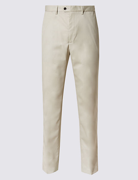 Tailored Fit Pure Cotton Chinos with Stormwear™